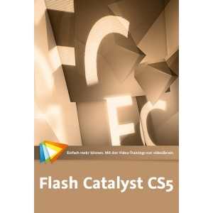 video2brain Flash Catalyst CS5 – das umfassende Training auf DVD (Box)