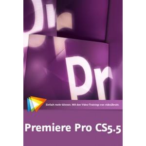 video2brain Premiere Pro CS5.5 - mit Encore CS5, OnLocation CS5, Adobe Story - auf DVD (Box)