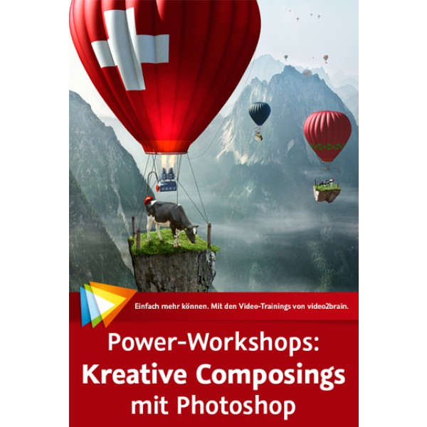 video2brain Power Workshops Kreative Composings auf DVD (Box)