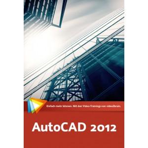 video2brain AutoCAD 2012 - Grundlagen, 3D-Entwurf, 2D-Planung - auf DVD (Box)