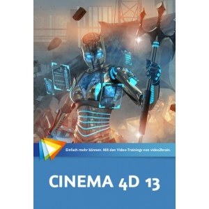 video2brain CINEMA 4D 13 - Videotraining auf DVD (Box)