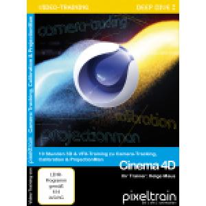 SchulungsDVD Cinema 4D Deep Dive VFX von Helge Maus (pixeltrain)