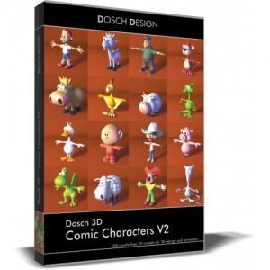 Dosch Design 3D Comic Characters V2