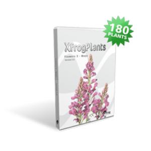 """Xfrog Plants """"Flowers 3 - C4D"""""""
