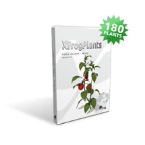 """Xfrog Plants """"Home Garden - C4D"""""""