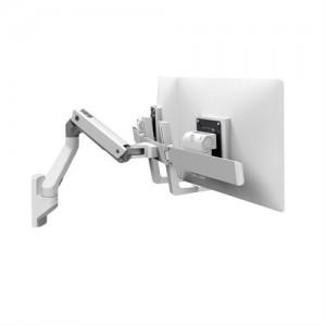 Ergotron HX Dual Monitor Arm, Wandhalterung (weiß)