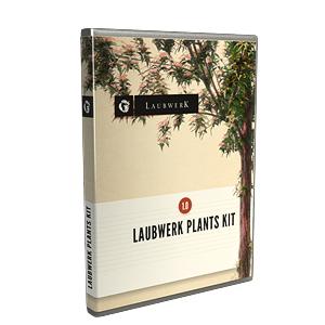 Laubwerk Plants Kit 10 – Temperate Deciduous Trees Kit