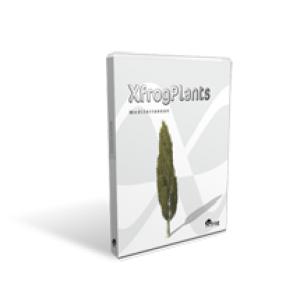 "Xfrog Plants ""Mediterranean"""