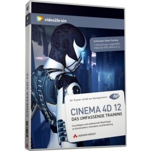 video2brain CINEMA 4D 12 - Das umfassende Training auf DVD (Box)