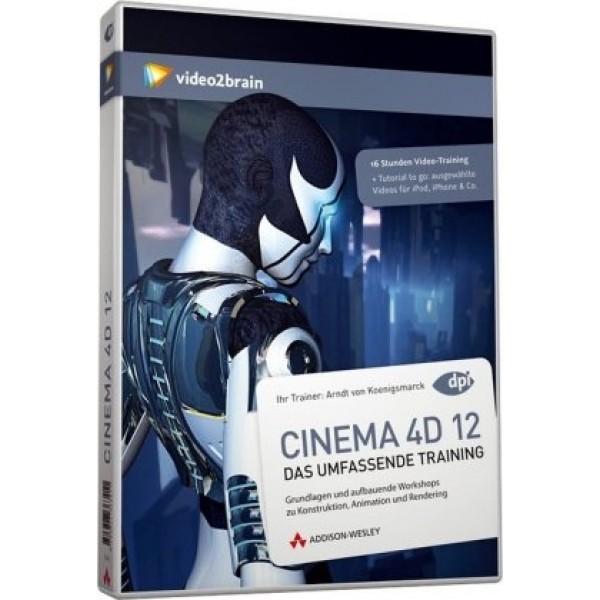 video2brain CINEMA 4D 12 - Das umfassende Training auf DVD (Box)