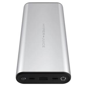 HyperJuice Battery Silber